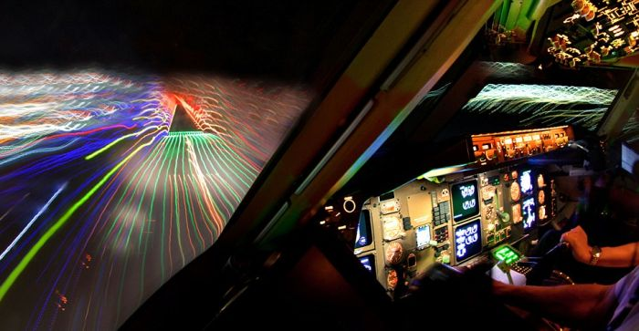 Incredible Photographs Captured From The Cockpit Of An Airplane (12 pics)