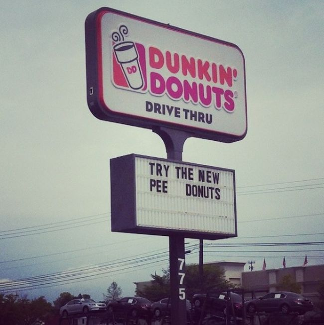 The Funniest Fast Food Signs In The History Of Fast Food Signs (20 pics)