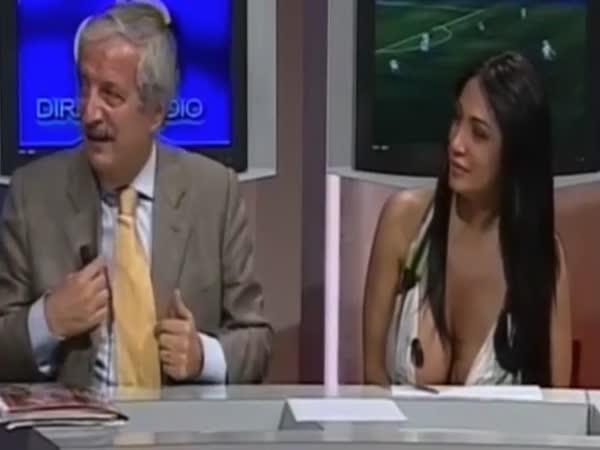 Marika Fruscio's Sexy Dress
