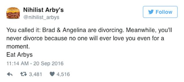 The Funniest Twitter Reactions To Angelina Jolie And Brad Pitt's Divorce (25 pics)