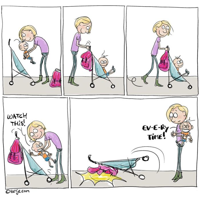 Cartoons About Parenting That Sum Up The Challenges Of Motherhood (17 pics)