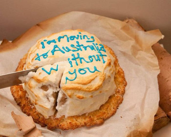 The Best Way To Deliver Bad News Is To Do It With A Cake (29 pics)