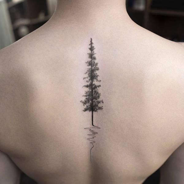 Breathtaking Minimalist Tattoos By A Korean Artist (50 pics)