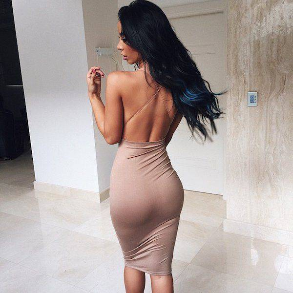 Here Come The Gorgeous Babes In Tight Dresses (60 pics)