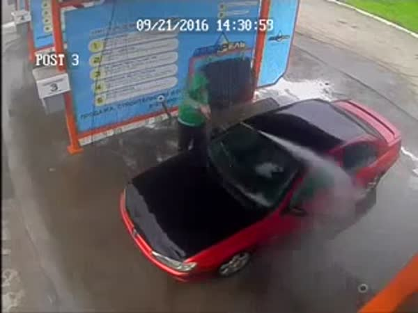 How Not To Wash A Car