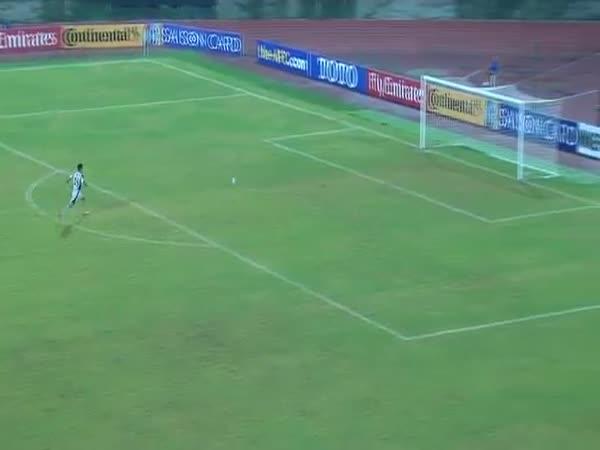 Uzbek Goalkeeper Scored An Amazing Goal Vs North Korea