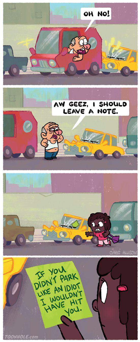 Hilarious Cartoons With Unpredictable Twist Endings (14 pics)
