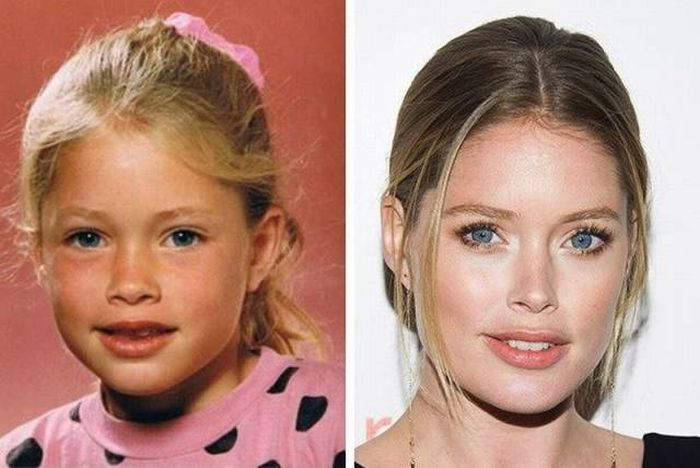 See What 12 Of The World's Top Models Looked Like When They Were Kids (12 pics)