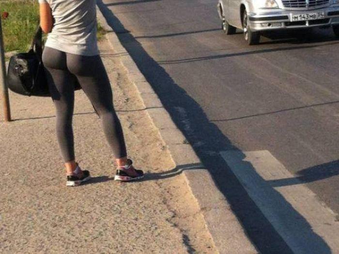 yoga pants 09 - סקסיות במכנסי ספורט (47 התמונות)