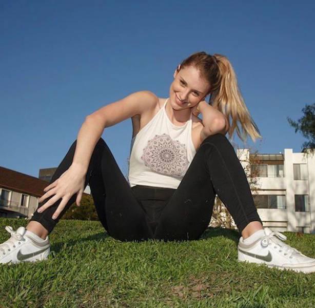 yoga pants 14 - סקסיות במכנסי ספורט (47 התמונות)