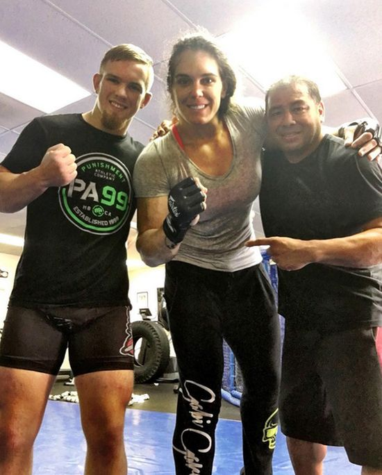 Gabi Garcia Is A MMA Fighter Who Regularly Spars With Men (15 pics)