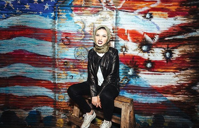 Muslim Journalist Wears Her Hijab While Posing For Playboy (3 pics)