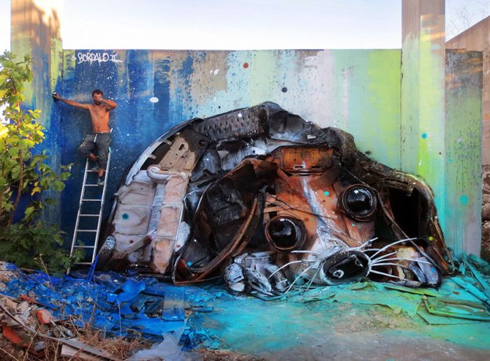 Artist Finds A Creative Way To Remind Us About Pollution (35 pics)