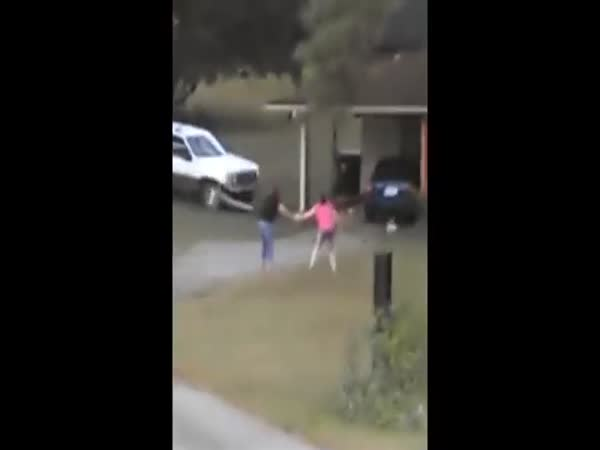 Guy Catches Wife Cheating So He Plows His SUV Into The House
