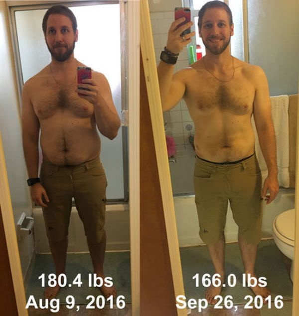 Gamer Goes Through 50 Day Transformation With VR Fitness (2 pics)