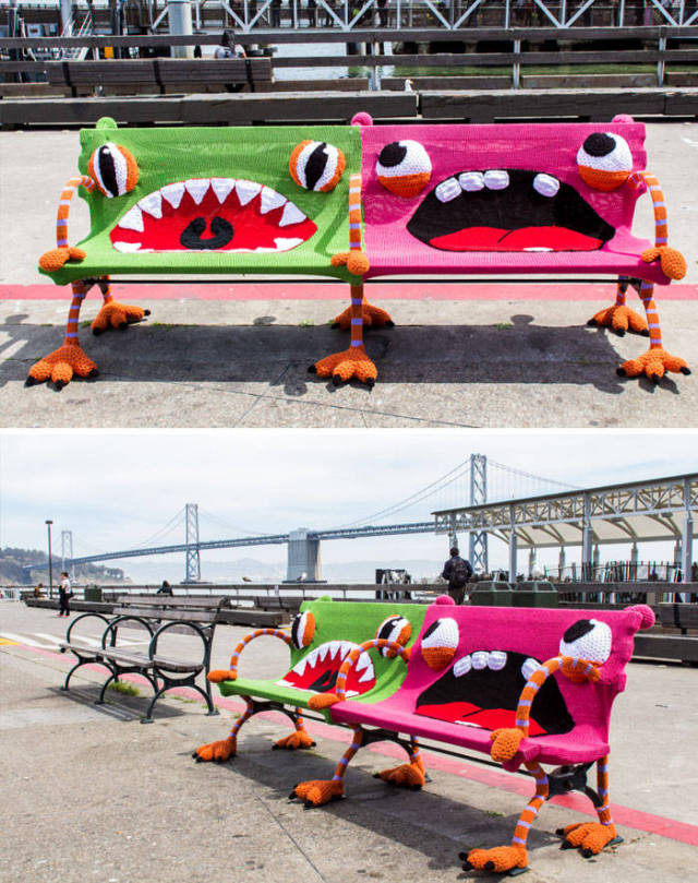 Some Of The Most Unusual And Creative Benches Ever Constructed (45 pics)