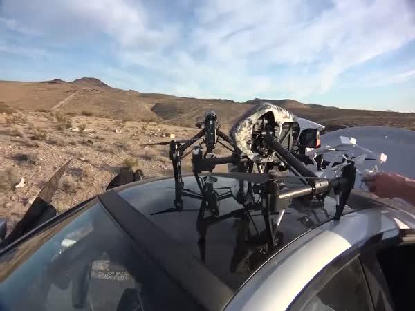 Dan Bilzerian Keeps The Nation Safe From Drones