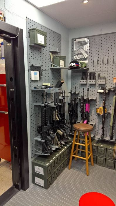 Inside This Room There Is A Hidden Arsenal (9 pics)