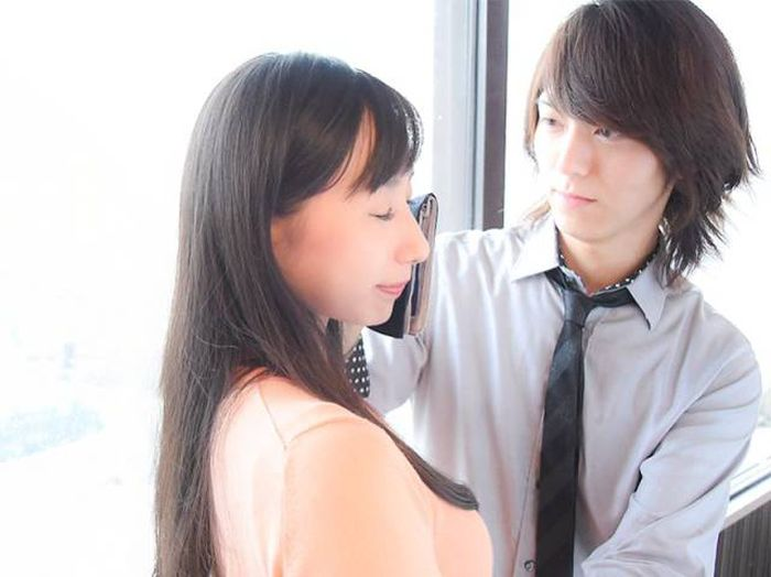 Japanese Women Are Paying Men To Wipe Their Tears Away (5 pics)