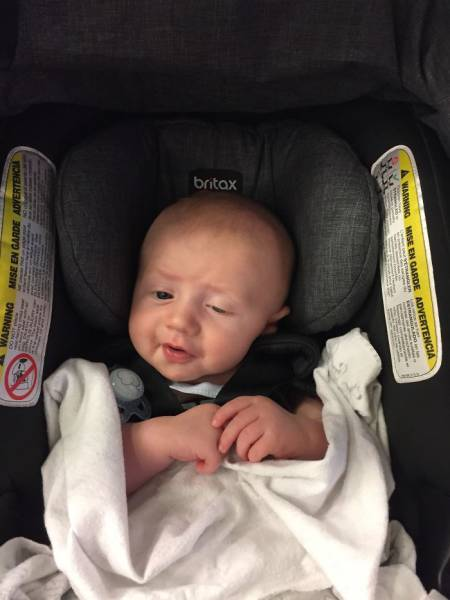 This Little Baby Makes Hilarious Adult Facial Expressions (31 pics)
