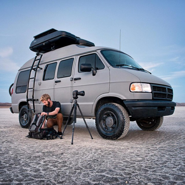 Man Turns His Grandmother's Old Van Into The Ultimate Adventure Mobile (20 pics)
