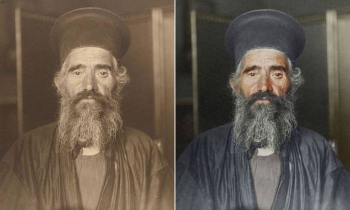 Immigrants At Ellis Island In Black And White And Color (16 pics)