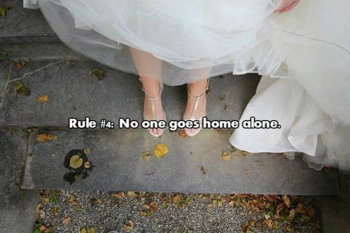 The Basic Rules Of Wedding Crashing (22 pics)