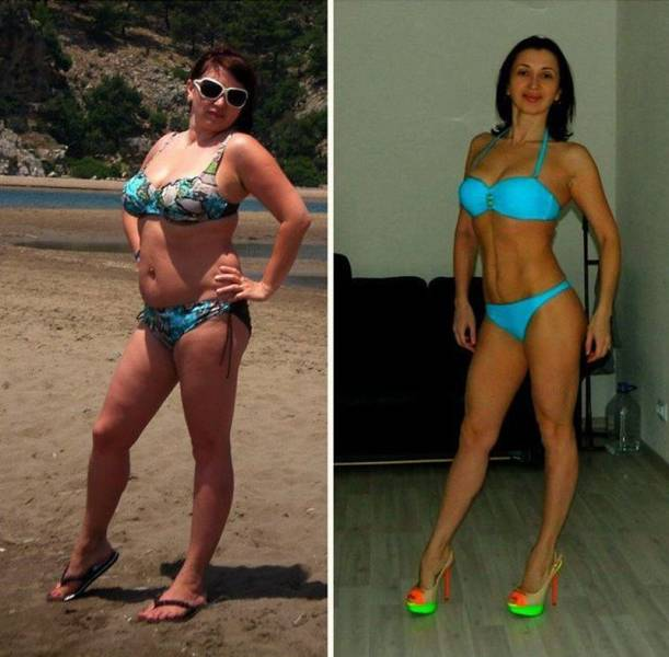 Woman Gets Into The Best Shape Of Her Life At 38 Years Old (13 pics)
