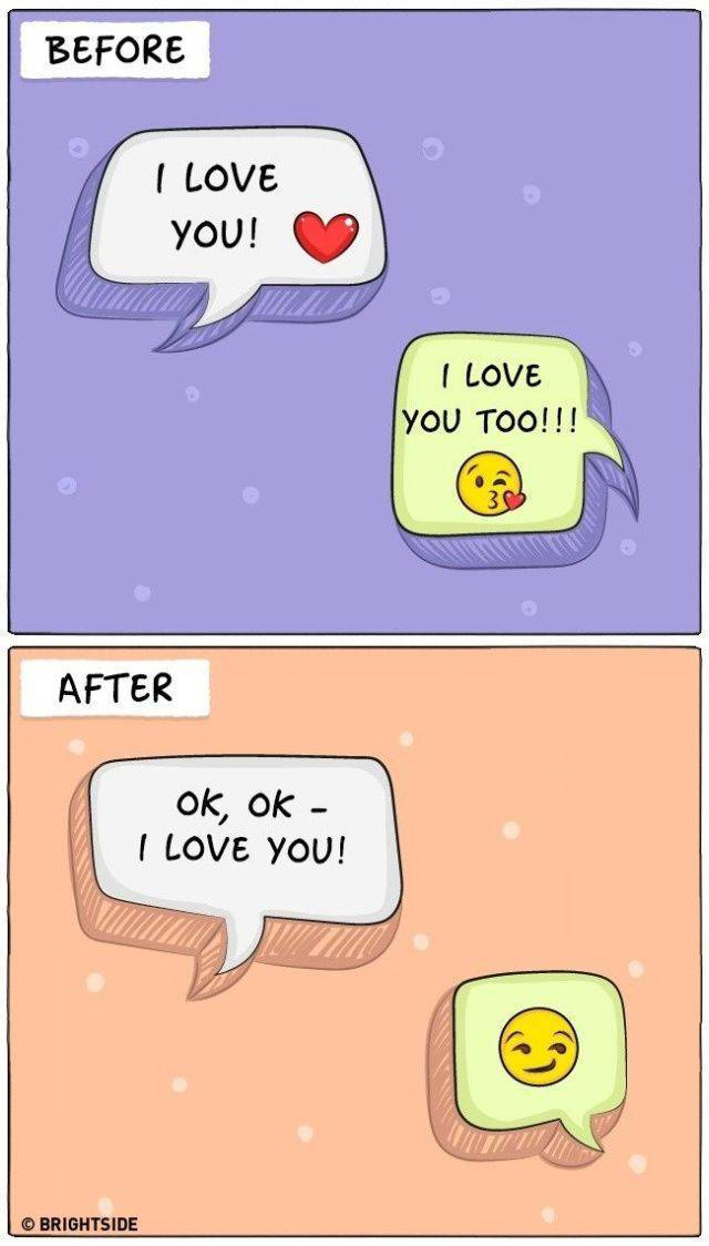 Drawings That Perfectly Sum Up Life Before And After Marriage (9 pics)
