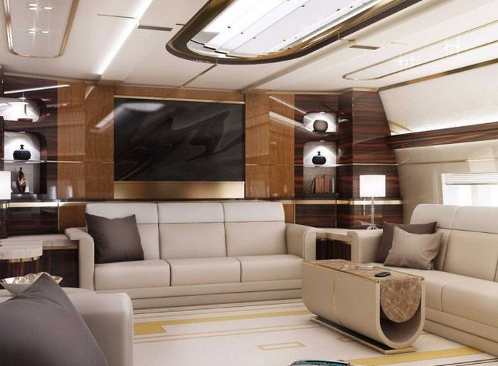 A Look Inside The Luxurious Boeing 747-8 VIP (11 pics)