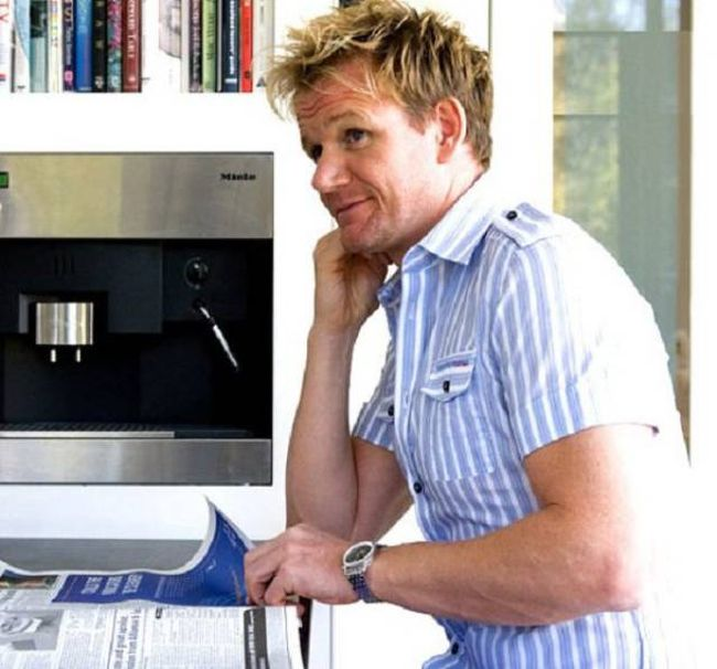Interesting Facts About The Infamous Chef Gordon Ramsay (15 pics)