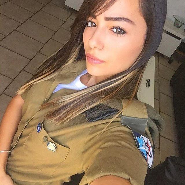 Las hermosas soldados de Israel