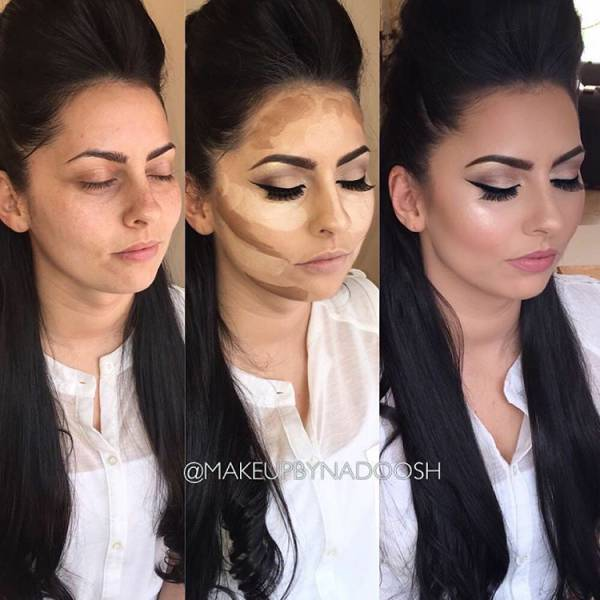 Awesome Makeup Transformations That Will Amaze You (32 pics)