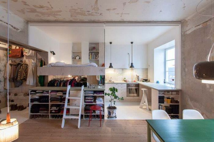 Rented Room In Sweden Has Everything You Need In One Compact Unit (8 pics)