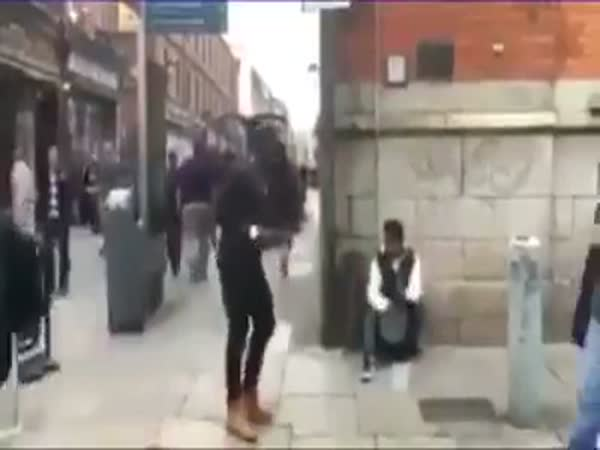 Man Stealing Money