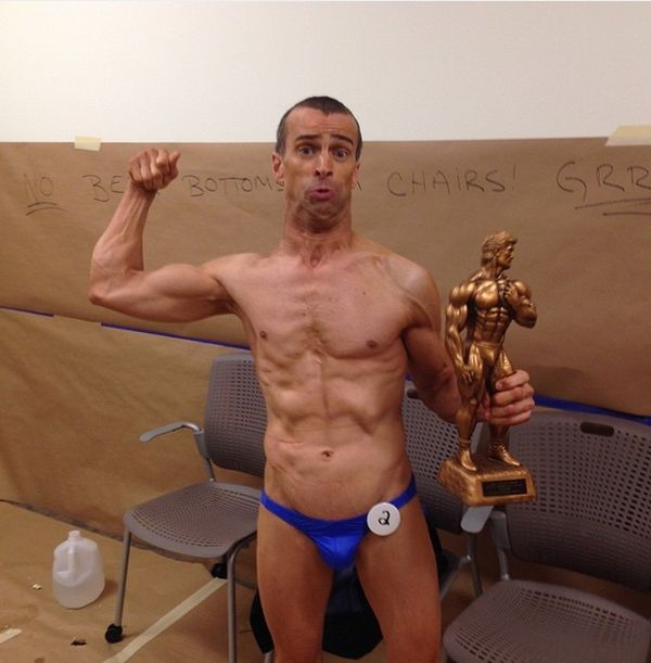 Inspirational Man With Cerebral Palsy Becomes A Bodybuilder (5 pics + video)