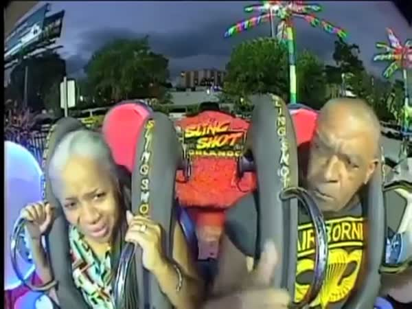 US Airborne Paratrooper Pwns The Slingshot Ride
