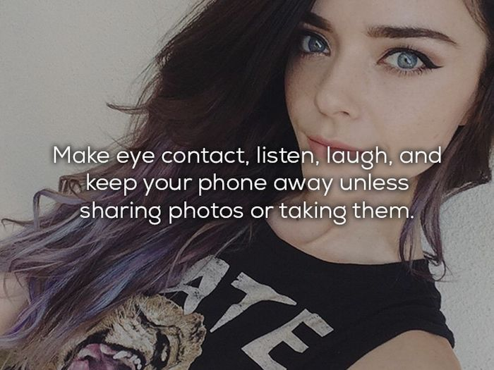 Etiquette Tips That Will Help You Survive Your First Date (15 pics)