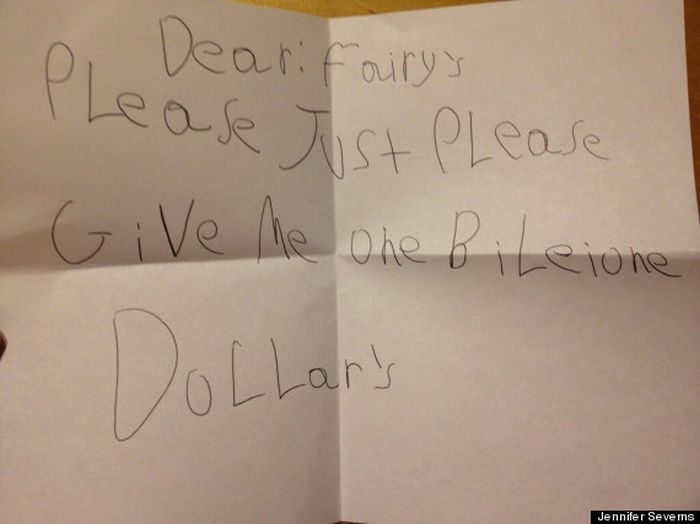 The 21 Best Notes Kids Have Ever Written To The Tooth Fairy (21 pics)