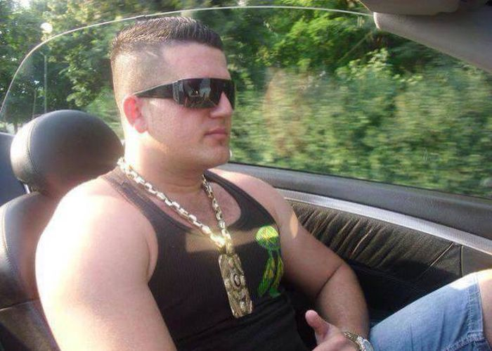 These Macedonian Guys Have An Out Of Control Love For Versace (28 pics)