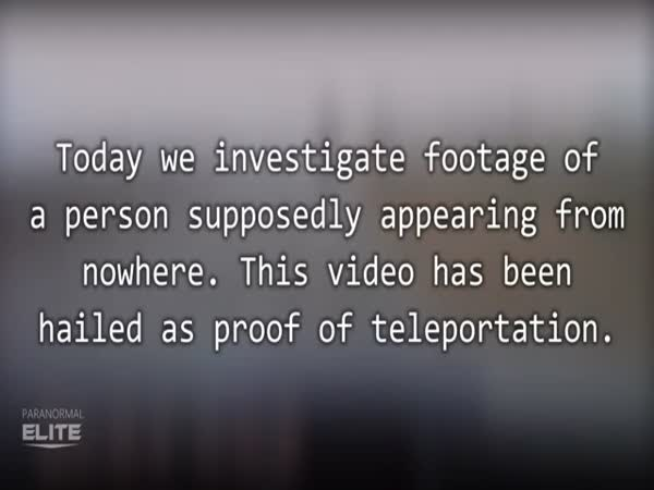 Teleportation Caught On Tape In Russia