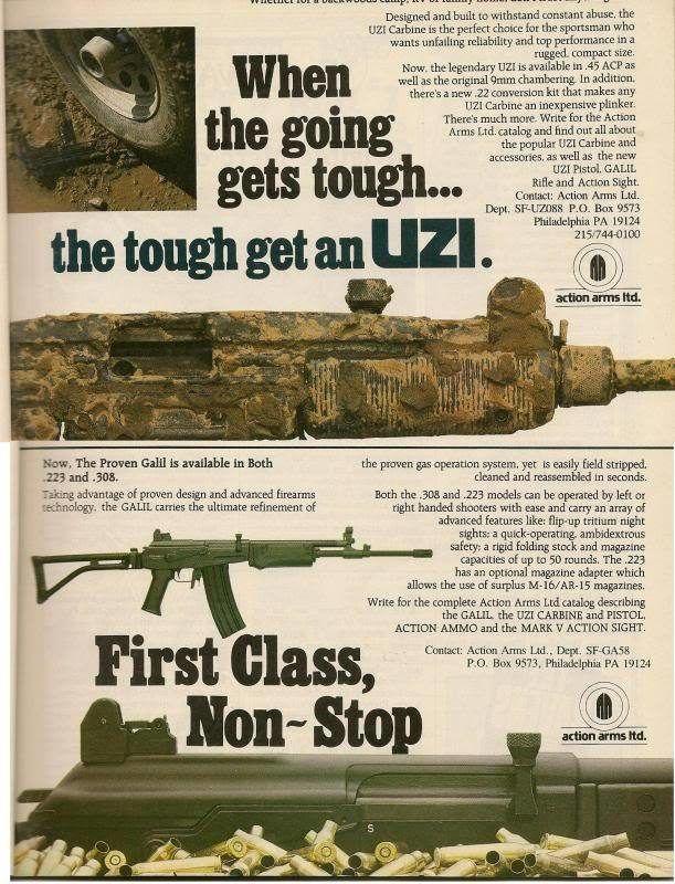 Vintage Gun Ads That Were Definitely Bad Ideas (17 pics)