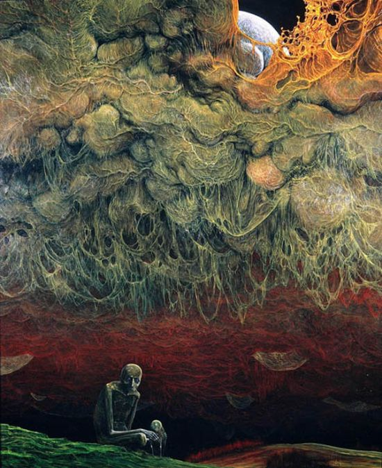 A Murdered Artist's Horrifying Depiction Of Hell (27 pics)