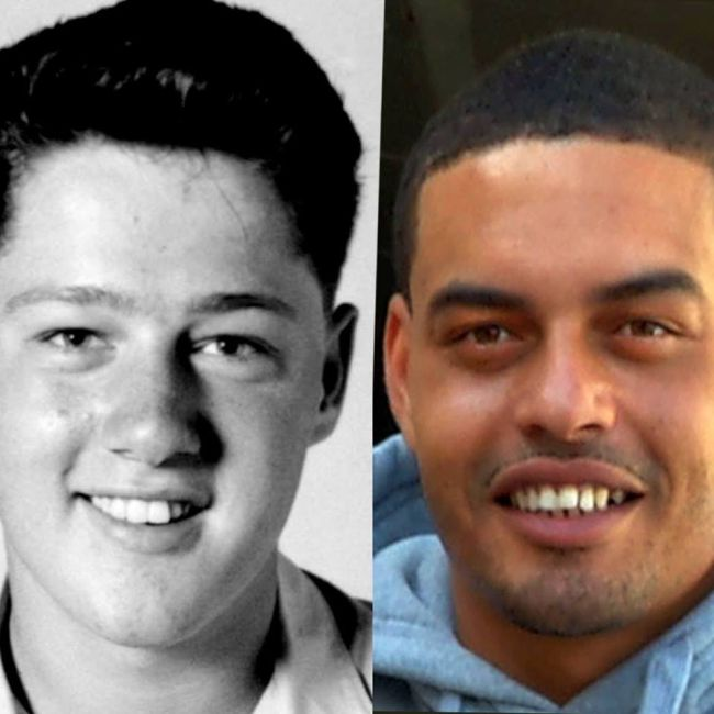 This Man Is Claiming To Be The Son Of Former President Bill Clinton (3 pics)