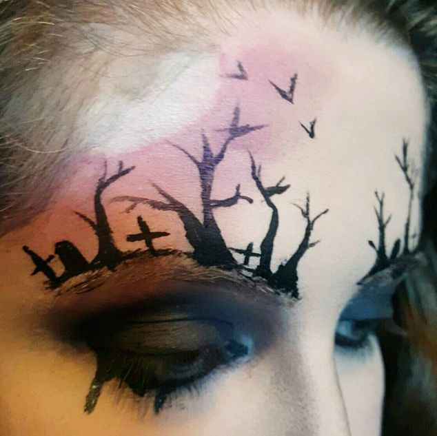 Killer Makeup Looks To Get You Ready For Halloween (22 pics)