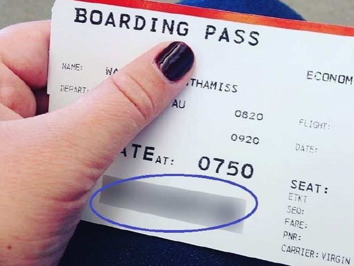 Every Traveller Should Be Nervous About This Boarding Pass Experiment (7 pics)