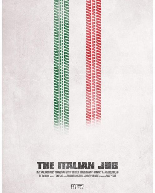 Graphic Designer Remakes A Different Movie Poster Every Single Day (27 pics)