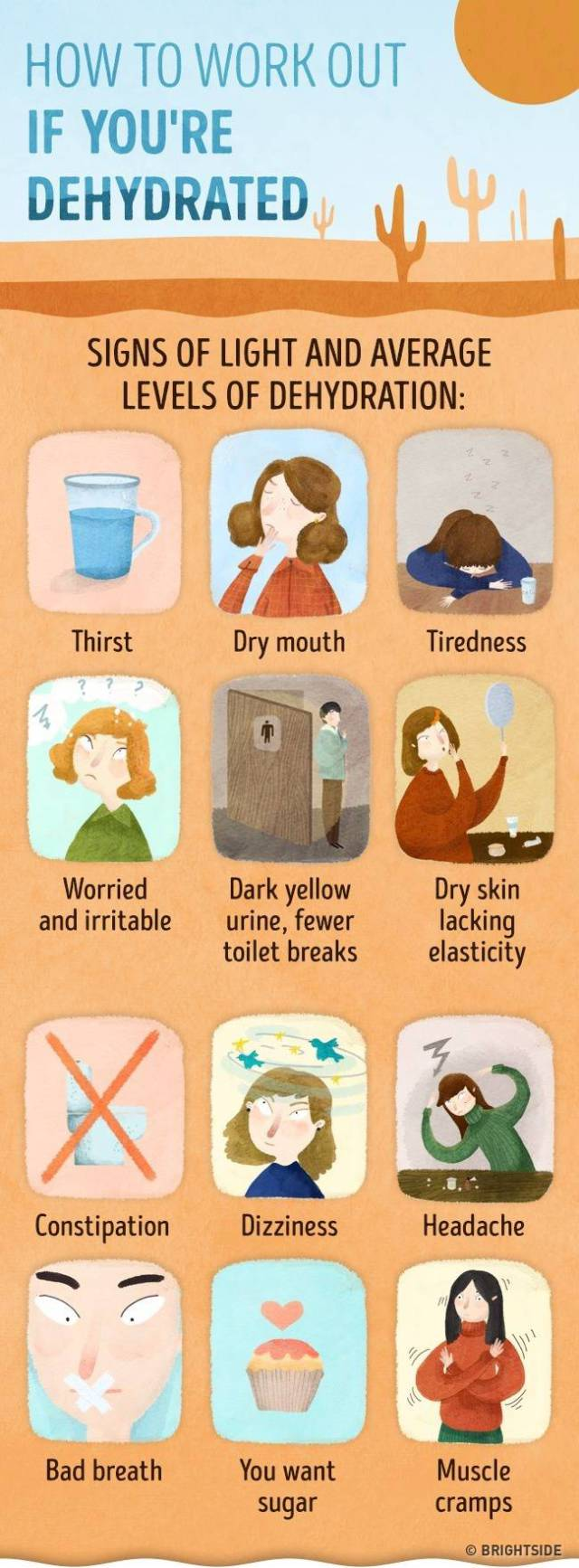 Signs Of Dehydration That Definitely Shouldn't Be Taken Lightly (4 pics)