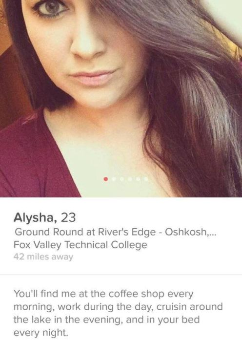 Some Of The Craziest Profiles You Can Find On Tinder (27 pics)