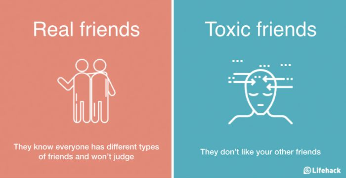 How To Tell The Difference Between Real Friends And Toxic Friends (8 pics)